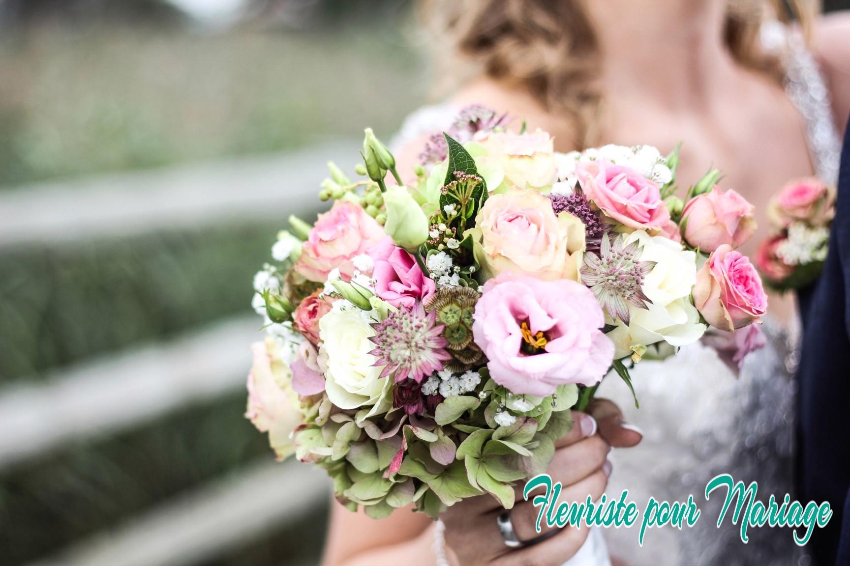 Bouquet de mariage champêtre VALBONNE