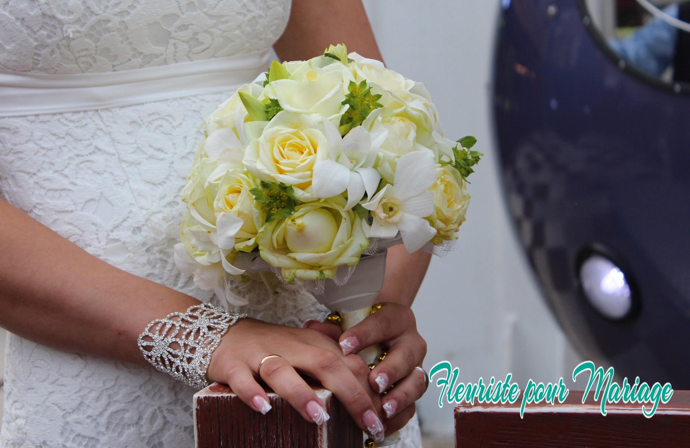 FLEURS MARIAGE VALBONNE