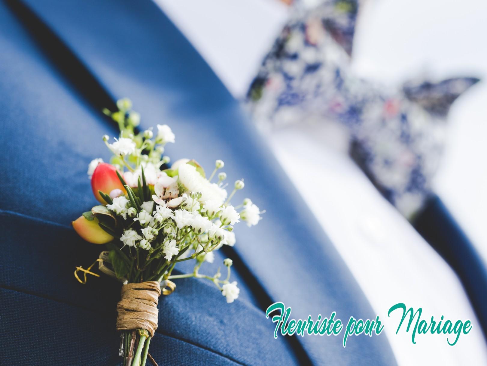BOUTONNIÈRE DU MARIÉ CHATEAUNEUF DE GRASSE - FLEURISTE MARIAGE CHATEAUNEUF DE GRASSE - FLEURS MARIAGE CHATEAUNEUF DE GRASSE