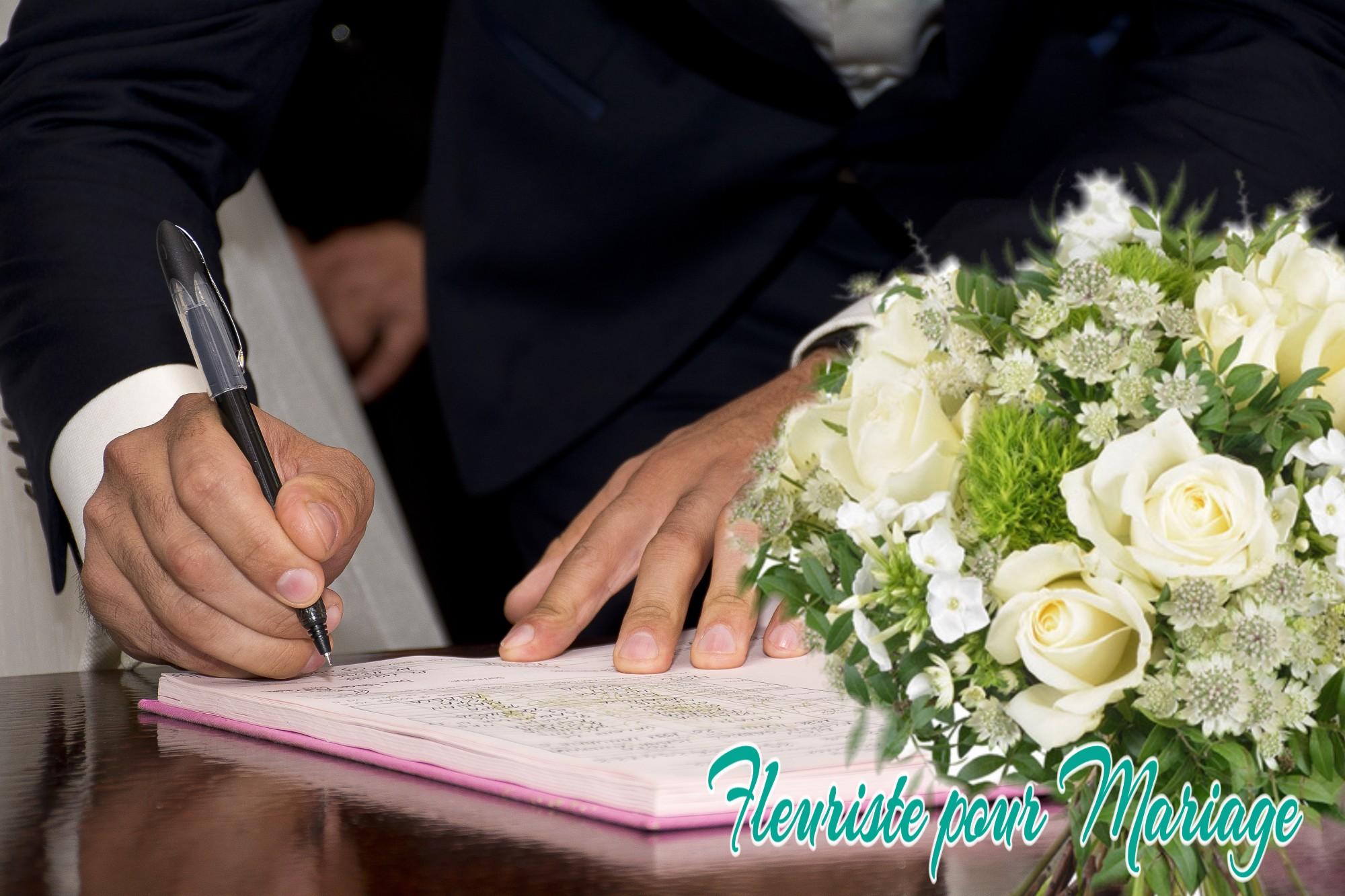 DÉCORATION FLORALE MARIAGE MAIRIE DE CHATEAUNEUF DE GRASSE - FLEURISTE MARIAGE CHATEAUNEUF DE GRASSE - FLEURS MARIAGE MAIRIE DE CHATEAUNEUF DE GRASSE