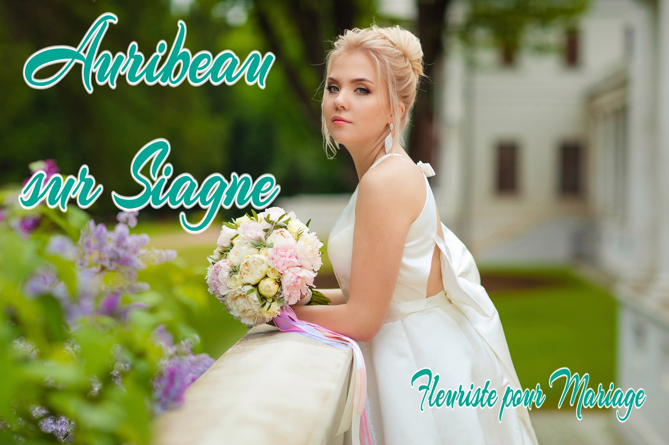 FLEURS MARIAGE AURIBEAU SUR SIAGNE