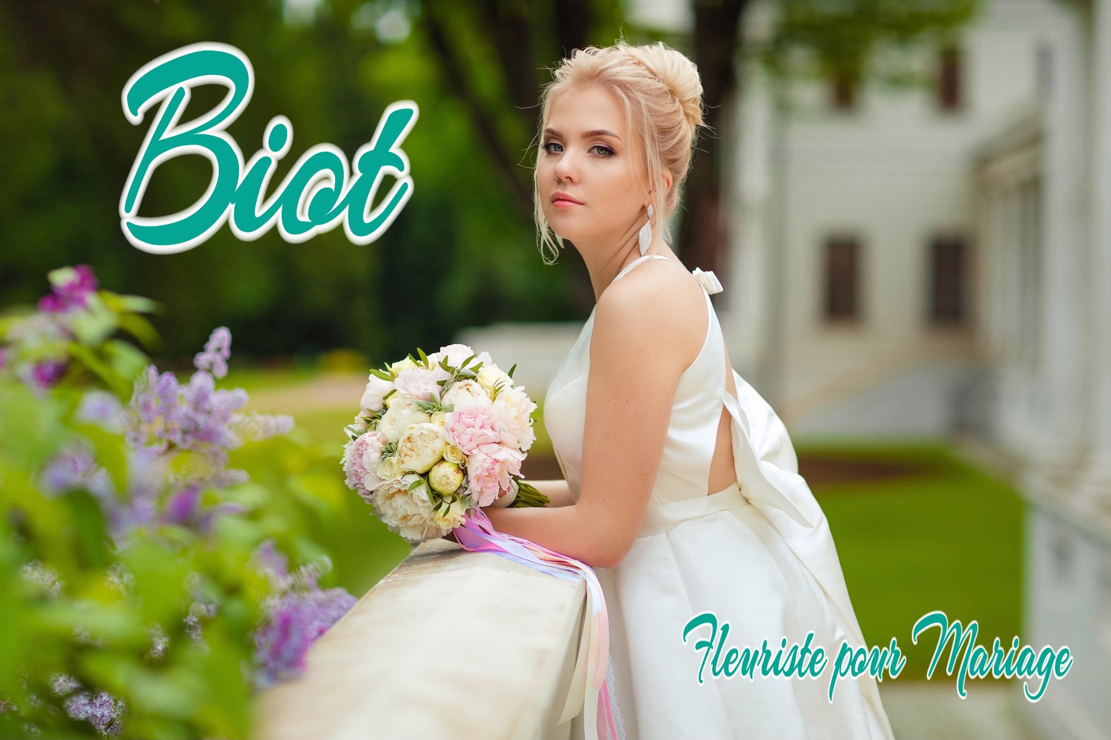 FLEURISTE MARIAGE BIOT - fleurs mariage BIOT - WEDDING PLANNER BIOT - TRAITEUR BIOT