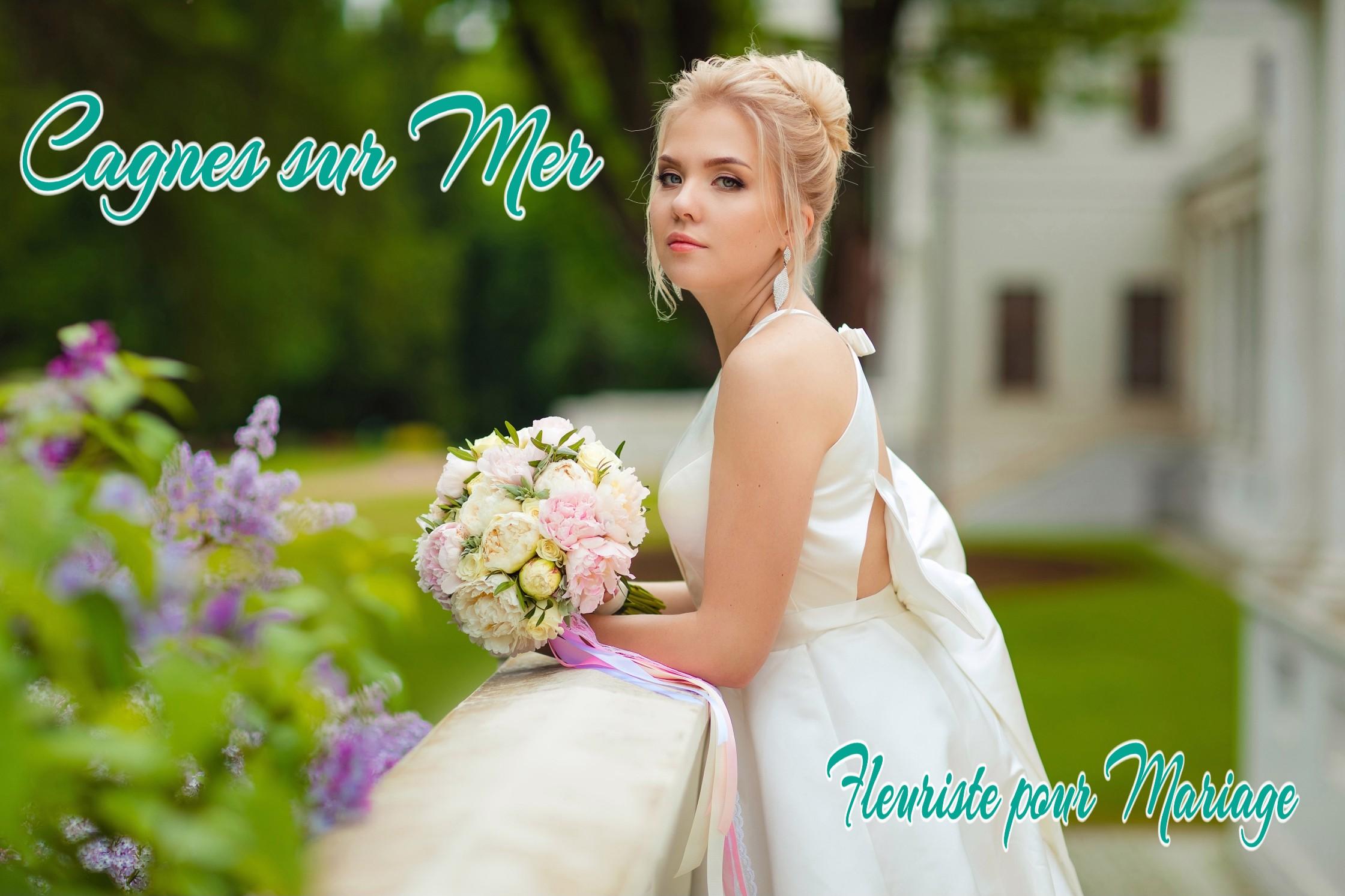 FLEURS MARIAGE CAGNES SUR MER