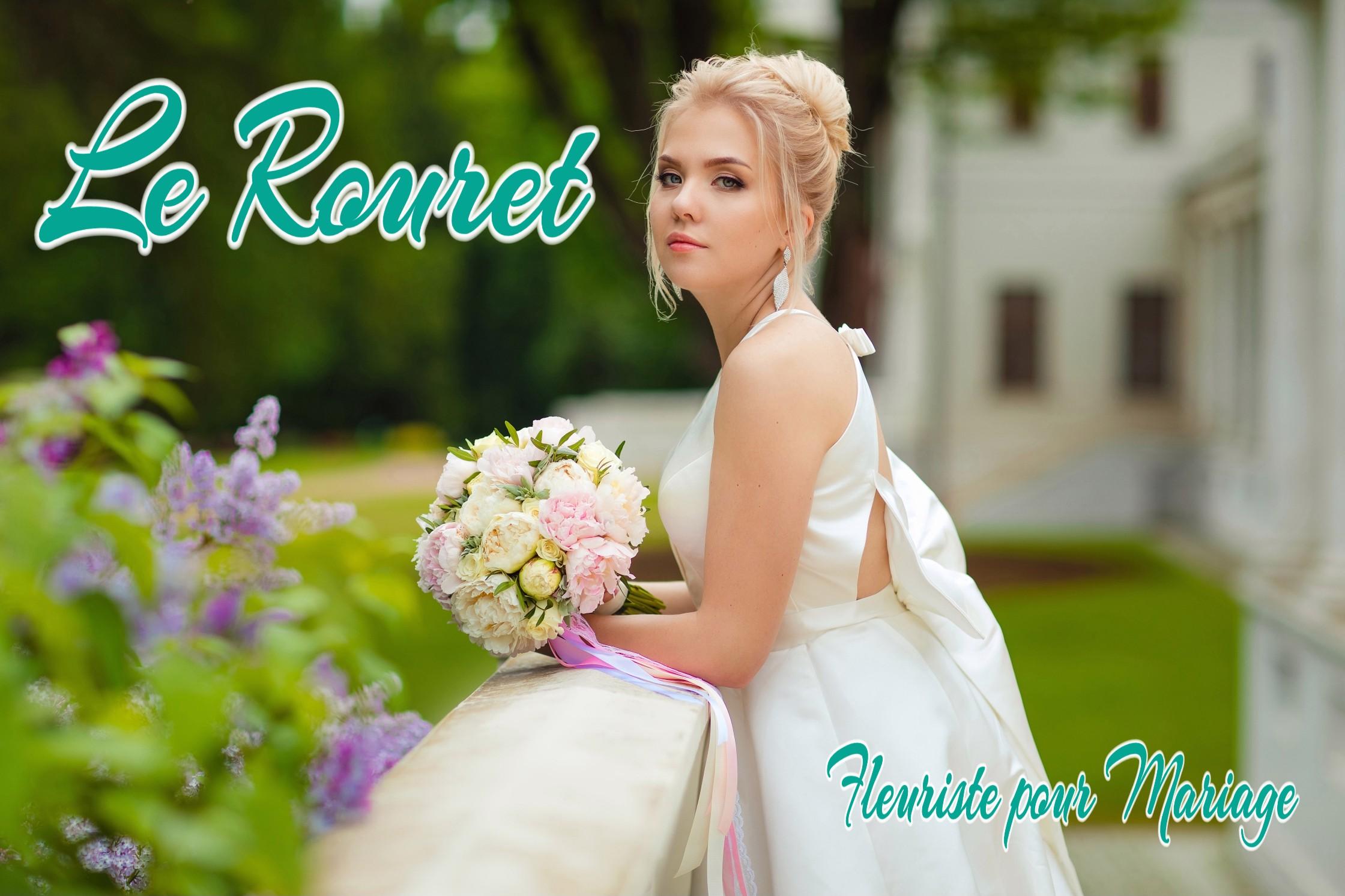 FLEURS MARIAGE LE ROURET