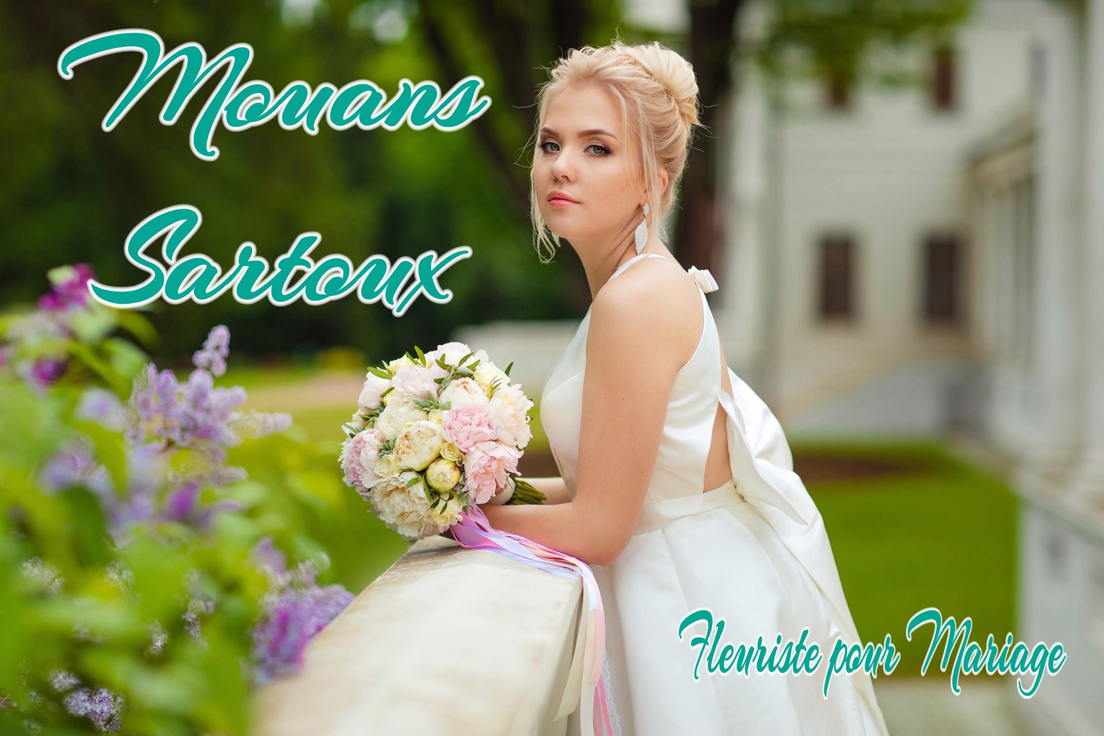 FLEURS MARIAGE MOUANS SARTOUX