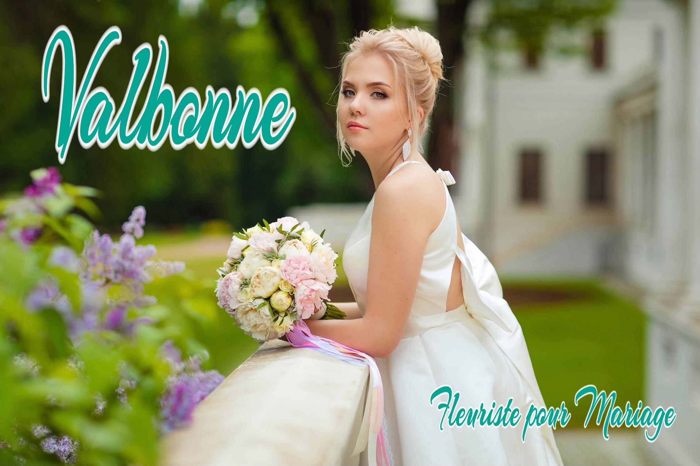 BOUQUET POUR MARIAGE VALBONNE
